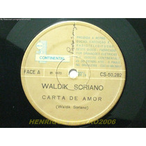 Waldik Soriano Compacto Carta De Amor + Meu Sonho