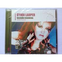 Cd Cyndi Lauper Seleção Essencial (lacrado)