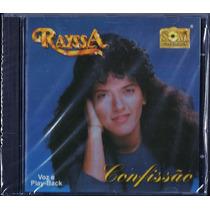 Cd Rayssa - Confissão [bônus Playback]