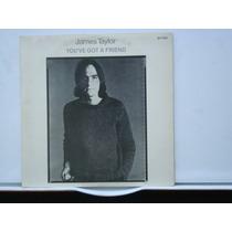 Compacto Vinil James Taylor You`ve Got A Friend / 1985