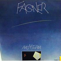 Fagner 1975 Ave Noturna Lp Com Encarte Original Capa Textura