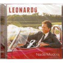 Cd Leonardo 2011 - Lacrado De Fábrica