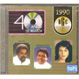 Cd 40 Anos Musica (1990) - Paquitos, Orlando Moraes, Suzamar