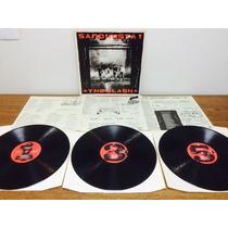 Lp The Clash - Sandinista! Importad Triplo 1980 Encarte Exc