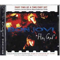 Bon Jovi Single Hey God Part 2 - Made In Uk