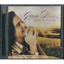 Cd Rayanne Vanessa - Quem Diria (bônus Playback)