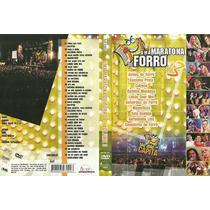 Dvd - Uma Maratona De Forró - Vol.3/ Aviões Do Forró/calypso