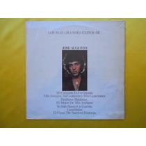 Lp José Augusto - P/1980 -los Mas Grandes Exit En Castellan