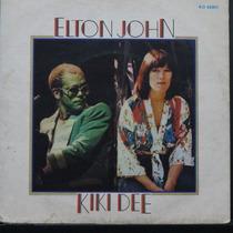 Elton John & Kiki Dee - Snow Queen - Compacto De Vinil Raro