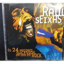 Cd Raul Seixas - Os 24 Maiores Sucessos Da Era Do Rock