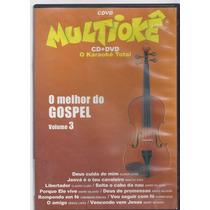 Dvd Original Multiokê O Melhor Do Gospel Vol 3 (cx 18)