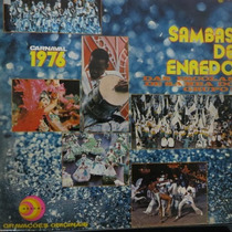 Lp Sambas De Enredo - Grupo 1 Carnaval 1976 - Vinil Raro