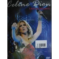 Dvd Celine Dion Live In Concert