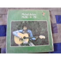 Compacto Michael Jackson, Music E Me [ Só A Capa ]