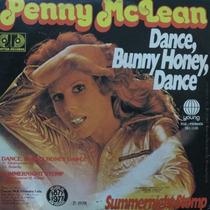 Penny Mclean - Dance, Bunny Honey, Da Compacto De Vinil Raro