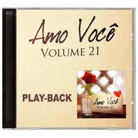 Playback Amo Você - Volume 21 - Mk * Lançamento