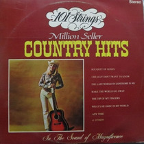Lp 101 Strings - Country Hits - Vinil Raro