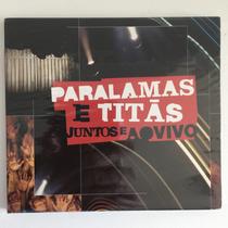 Cd Paralamas & Titãs - Juntos E Ao Vivo (2008) C/ Convidados