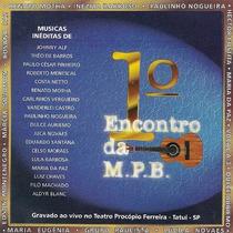 Cd Encontro Mpb - Lula Barbosa, Lucila Novaes, Rosana Paz