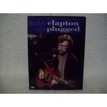 Dvd Original Eric Clapton- Unplugged- Importado- Região 1
