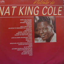 Lp Nat King Cole - O Talento De Nat K - Vinil Raro Duplo
