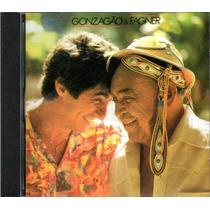 Cd Luiz Gonzaga E Fagner Ano 1987 Gonzagão Novo Original