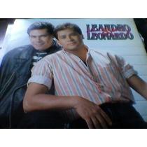 Lp Leandro E Leonardo - 1992 O Que Eu Sinto E Amor Encarte G