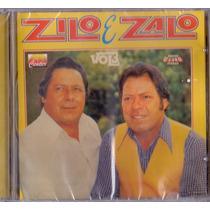 Cd Zilo E Zalo - Vol. 3 - Novo***