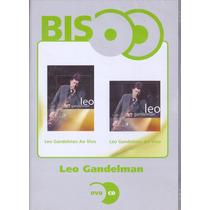 Dvd + Cd Leo Gandelman - Serie Bis - Ao Vivo - Novo***