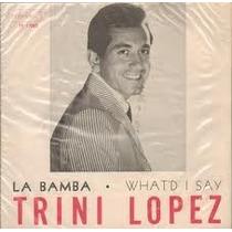 Compacto 7 Trini Lopez - 1957 - Raro, 2 Faixas.
