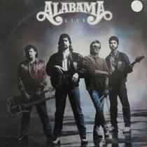 Lp Alabama - Live - Vinil Raro