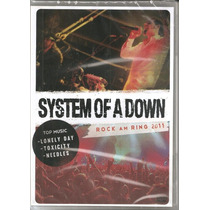 Dvd System Of A Down Rock Am Ring 2011 (original E Lacrado)
