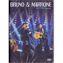 Dvd Bruno & Marrone - Agora Ao Vivo - Novo***