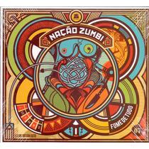 Cd Nação Zumbi - Fome De Tudo - Novo***