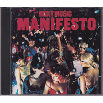 Roxy Music - Cd Manifesto - 1979 - Importado - Seminovo