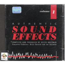 Cd Authentic Sound Effects - Volume 1