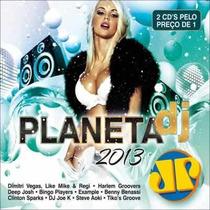 Cd Duplo Planeta Dj 2013 Jovem Pan (lacrado)