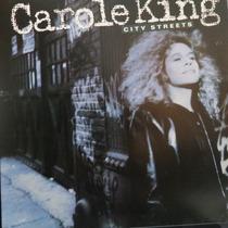 Lp Carole King - City Streets - Vinil Raro