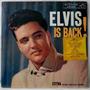 Elvis Presley Lp Import Usado Is Back 1960 Mono 1a. Edição