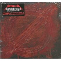 Cd Trough The Never - Metallica - Duplo Deluxe - Lacrado