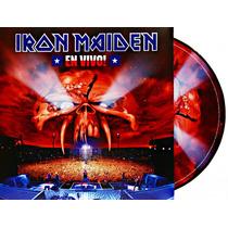 Lp Vinil Picture Disc Iron Maiden En Vivo Duplo Importado