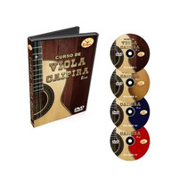 Curso Edon Viola Caipira Completo 4 Volumes