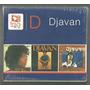 Box Com 03 Cds Djavan Seduzir 1978 1979 Emi Lacrado