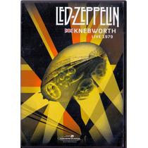 Led Zeppelin - Live At Knebworth 1979- Dvd Raro Novo Lacrado