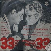 Billy Vaughn - Amores Clandestinos - Compacto Vinil Raro