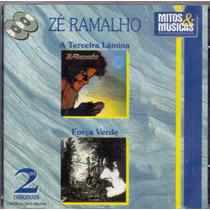 Cd Duplo Zé Ramalho - A Terceira Lâmina/força Verde - Novo*