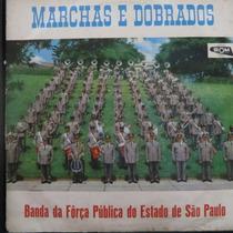 Lp Banda Força Publica Do Estado De São Paulo Vinil Raro