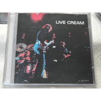Cd - Cream - Live Cream - Progressivo - Raro