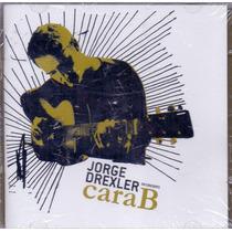 Cd Duplo Jorge Drexler - Cara B En Concierto - Novo***