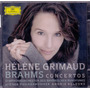 Cd Duplo Helene Grimald - Brahms The Piano Concerto ***
